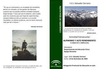 I.E.S. Salvador Serrano
