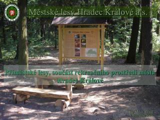 Městské lesy Hradec Králové a.s.