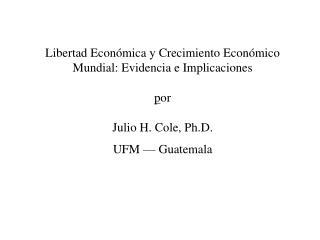 Tasas de Crecimiento (%), PIB per c�pita, 106 Pa�ses, 1980-99.