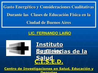 Instituto Superior