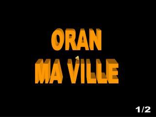 ORAN MA VILLE