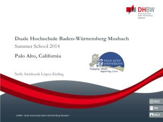 Duale Hochschule Baden-W�rttemberg Mosbach