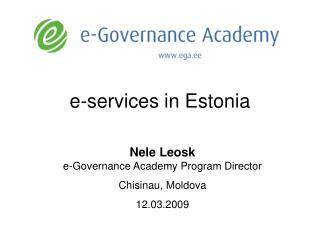e-services in Estonia