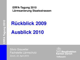 ERFA Tagung 2010
