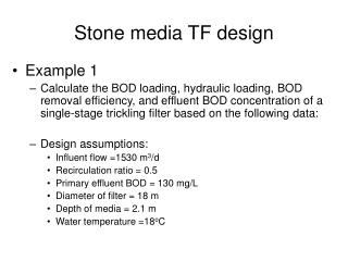 Stone media TF design