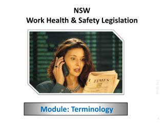NSW Work Health  Safety Legislation
