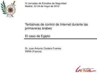Tentativas de control de Internet durante las primaveras árabes El caso de Egipto