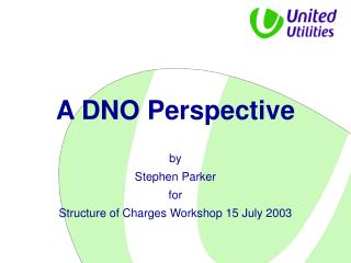 A DNO Perspective