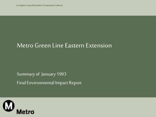 Metro Green Line Eastern Extension