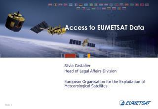 Access to EUMETSAT Data