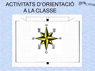 ACTIVITATS D'ORIENTACIÓ A LA CLASSE