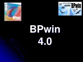 BPwin 4.0