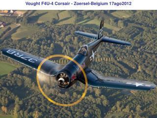 Vought F4U-4 Corsair - Zoersel-Belgium 17ago2012