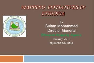 Mapping  Initiatives in  Ethiopia