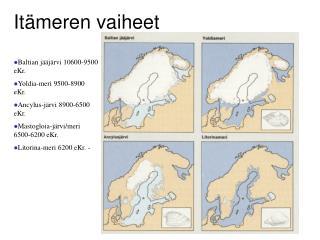 Itämeren vaiheet