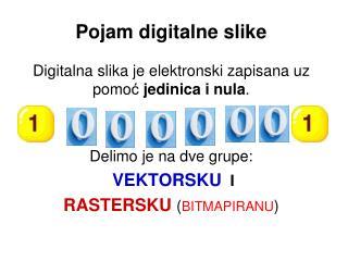 Pojam digitalne slike