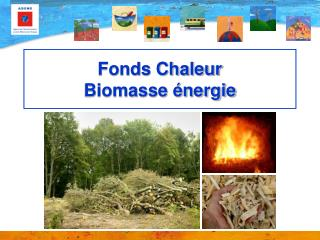 Fonds Chaleur  Biomasse énergie