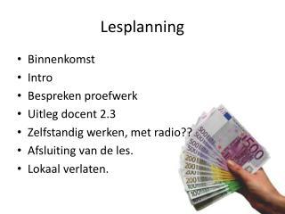 Lesplanning