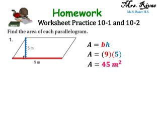 Worksheet Practice 10-1 and 10-2
