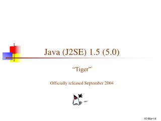 Java J2SE 1.5 5.0