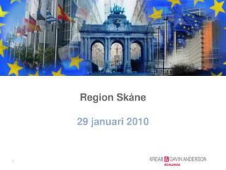 Region Skåne  29 januari 2010