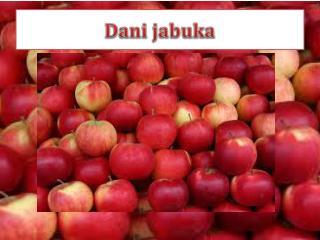 Dani jabuka
