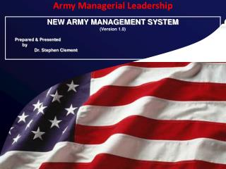 Army Managerial Leadership