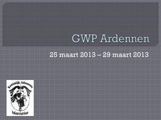 GWP Ardennen
