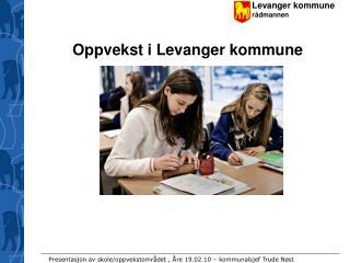 Oppvekst i Levanger kommune