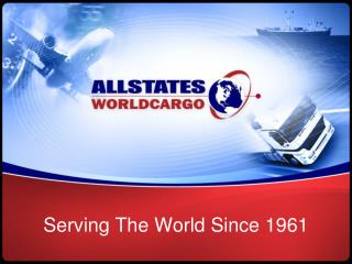 Serving The World Since 1961