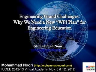 Mohammad  Noori mohammad.noori@gmail