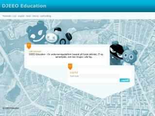 DJEEO Education – En undervisningsplatform baseret på fysisk aktivitet, IT og