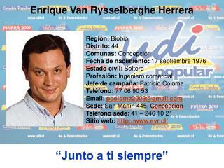 Región:  Biobio Distrito:  44 Comunas:  Concepción Fecha de nacimiento:  17 septiembre 1976
