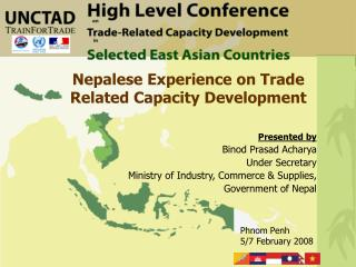 Nepalese Experience on Trade Related Capacity Development