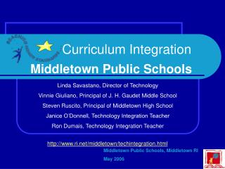 Curriculum Integration