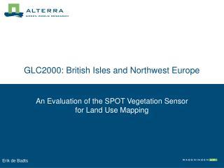 GLC2000: British Isles and Northwest Europe