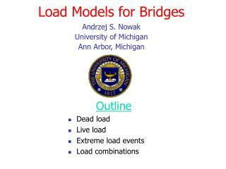 Load Models for Bridges
