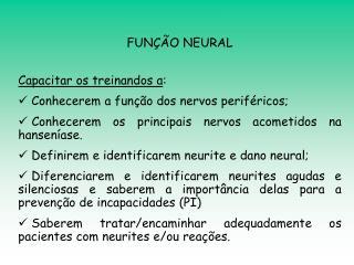 FUNÇÃO NEURAL