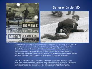 Generación del '60