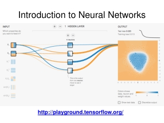 Introduction to  Neural Networks