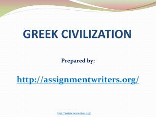 Greece Civilization
