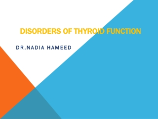 How to recognise early signs of hyperthyroidism