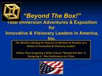 The World is Waiting for America to Reclaim Its Position as a Nation of Innovative  Visionary Leaders  Rather Than Imagi