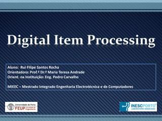 Digital Item  Processing