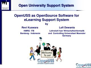Open University Support System