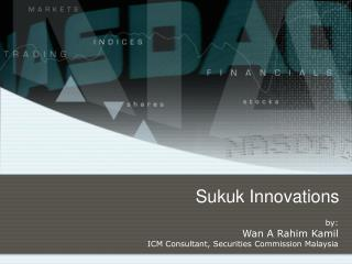 Sukuk Innovations