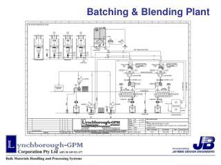 Batching & Blending Plant