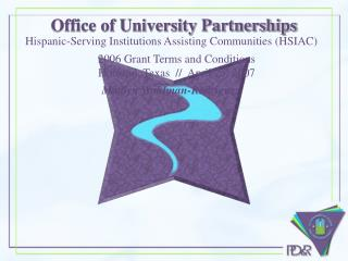Office of University Partnerships