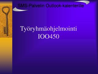 Työryhmäohjelmointi IOO450