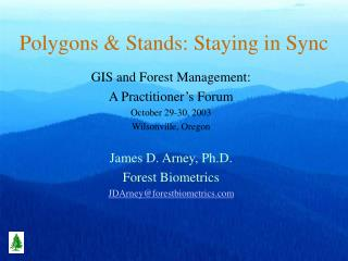 Polygons & Stands: Staying in Sync